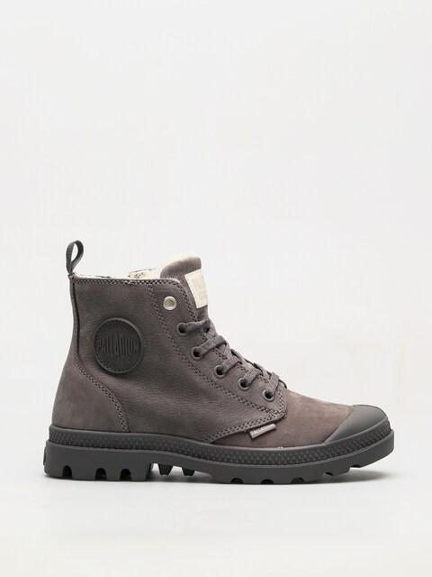 Zimné topánky Palladium Pampa Hi Zip WL Wmn (cloudburst/charcoal gray)