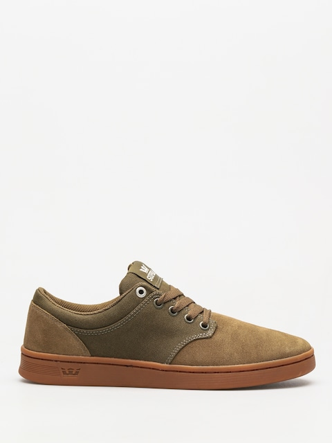 Topánky Supra Chino Court (olive gum)