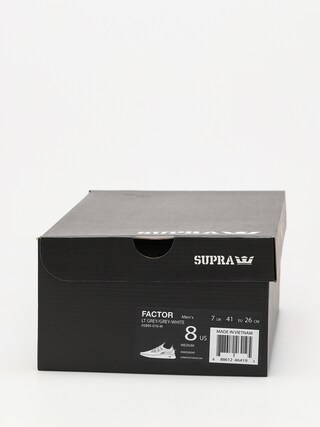 Topánky Supra Factor (lt grey/grey white)