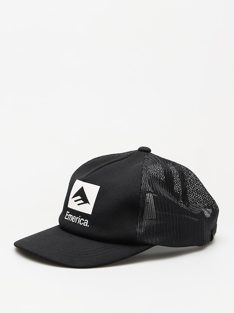 Šiltovka Emerica Brand Combo Trucker ZD (black)