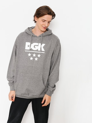 Mikina s kapucňou DGK All Star HD (gunmetal)