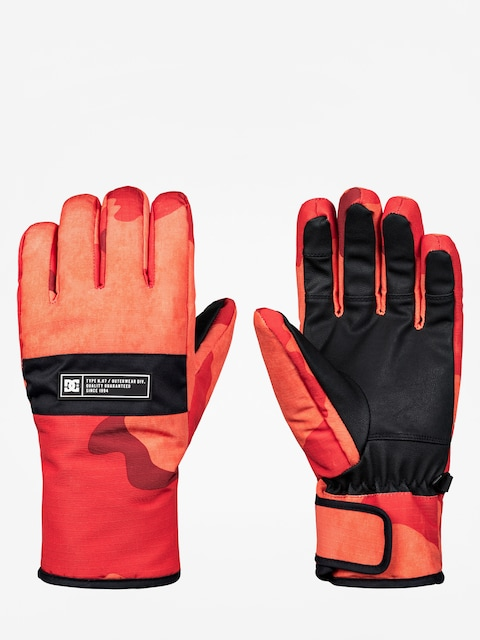 Rukavice DC Franchise Glove (red orange dcu camo)