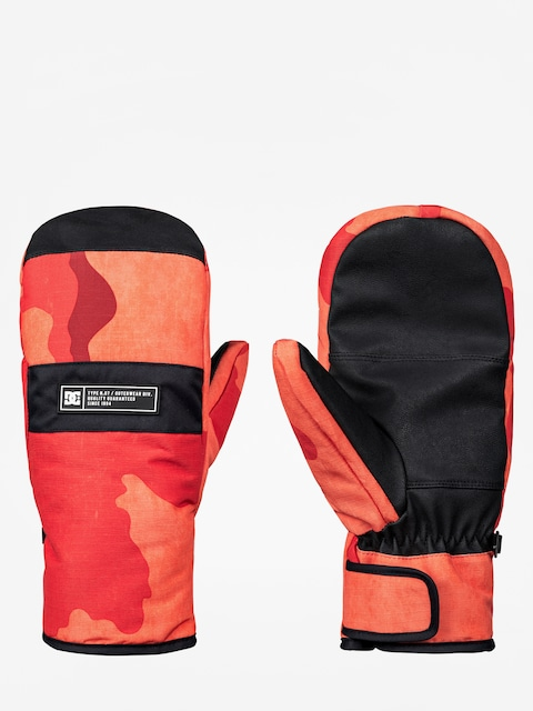 Rukavice DC Franchise Mitt (red orange dcu camo)