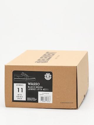 Topánky Element Wasso (black breen)