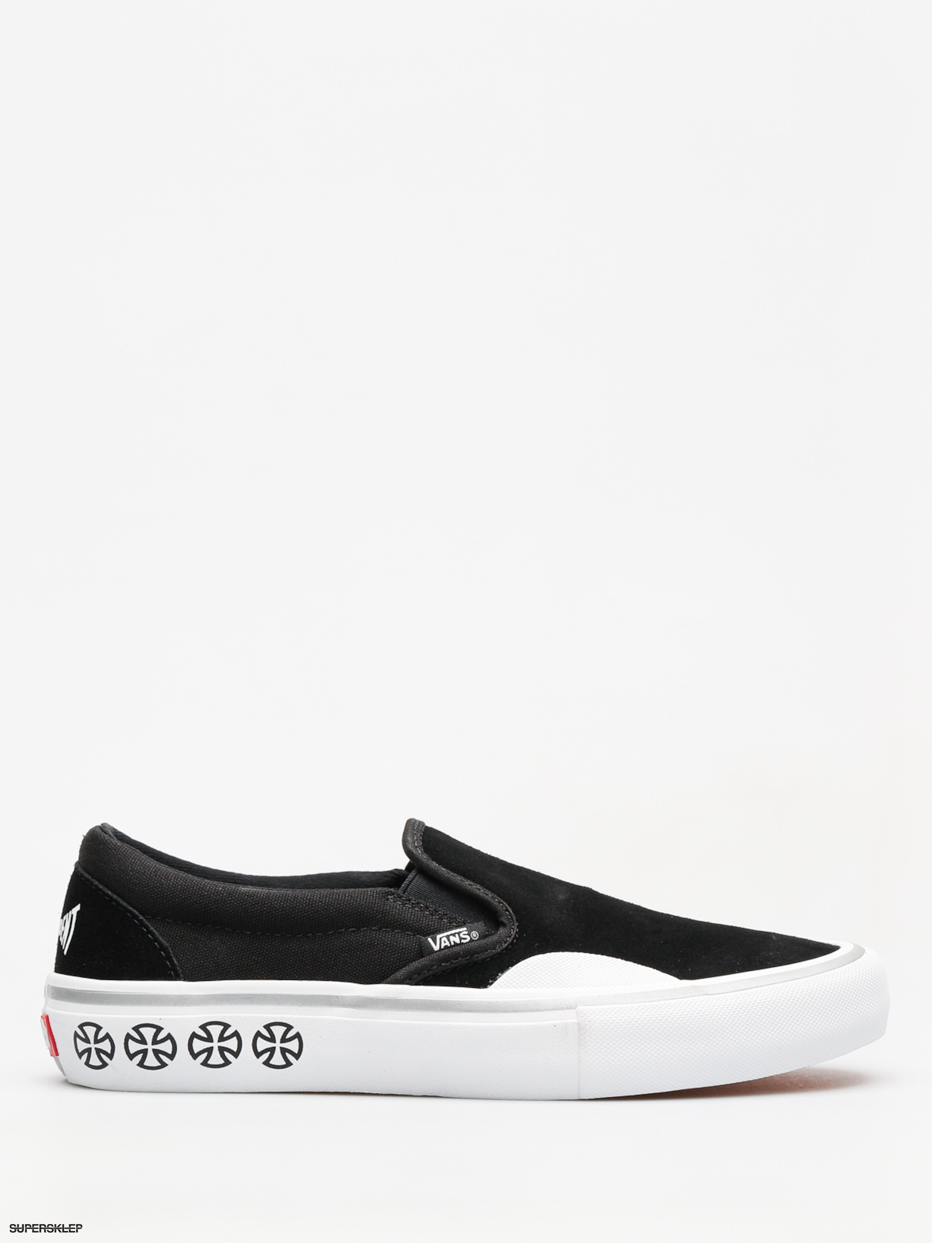 c9bcb2bec6 Topánky Vans x Independent Slip On Pro (independent black white)