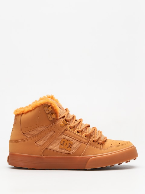 Zimné topánky DC Pure High Top Wc Wnt (wheat/white)