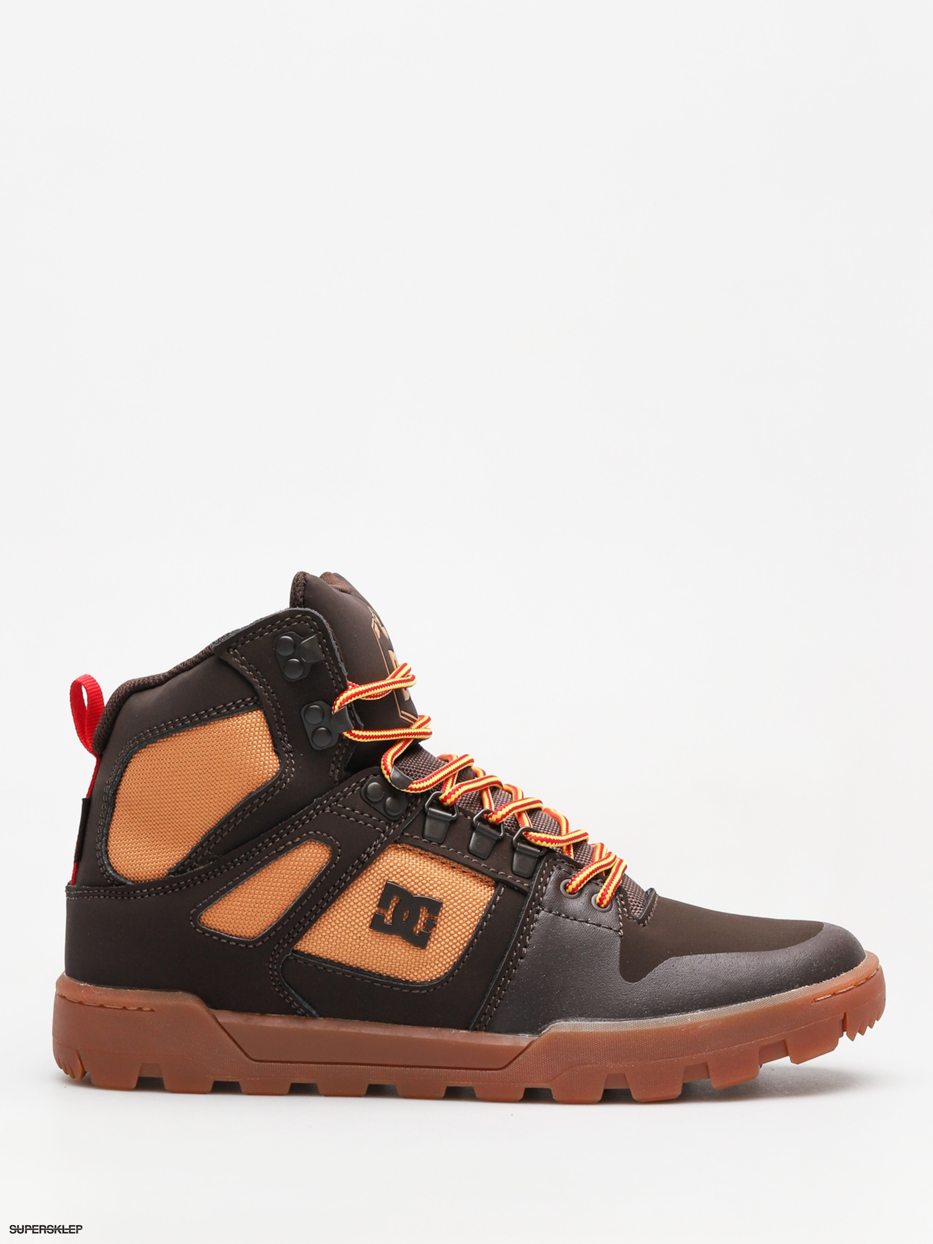c7ff8b9cb87a7 Zimné topánky DC Pure High Top Wr Boot (chocolate brown)