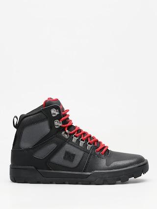 Zimnu00e9 topu00e1nky DC Pure High Top Wr Boot (black/grey/red)