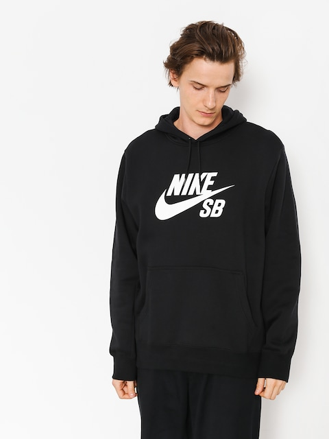 Mikina s kapucňou Nike SB Sb Icon HD (black/white)