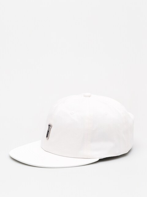Šiltovka Diamond Supply Co. Fasten Unstructured 6 Pan Stra ZD (white)