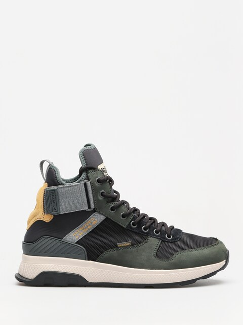 Topánky Palladium Ax_Eon Army Runner Mid (urban chic/anthrct/amb gd)
