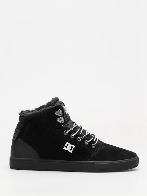Zimné topánky DC Crisis High Wnt (black/white/black)