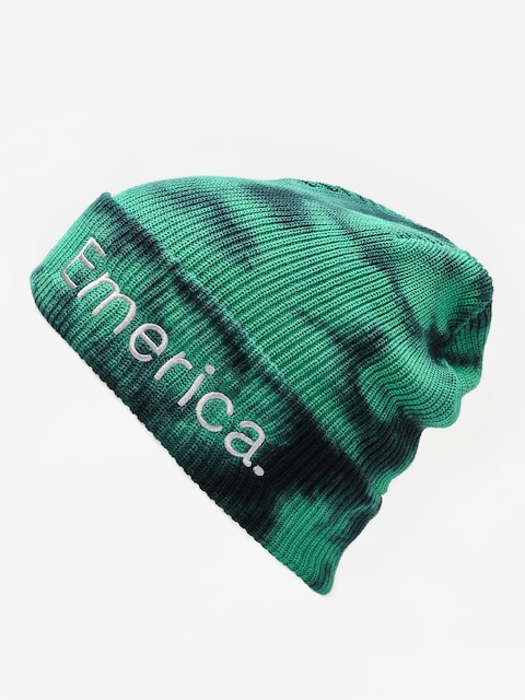 Čiapka Emerica Tied Cuff Beanie ✔️ (green/black)