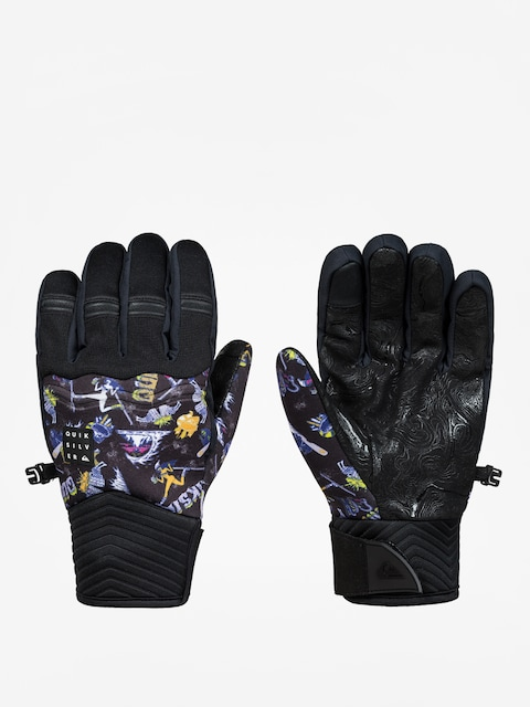 Rukavice Quiksilver Method Glove (a day at mtn glo blk)