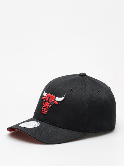Šiltovka Mitchell & Ness Nba Team Logo Low Pro 110  ZD (black/bulls)