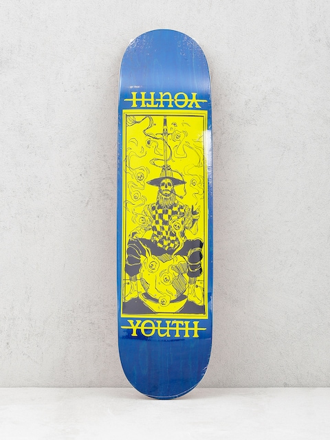 Doska Youth Skateboards Prestidigitator (navy/yellow)