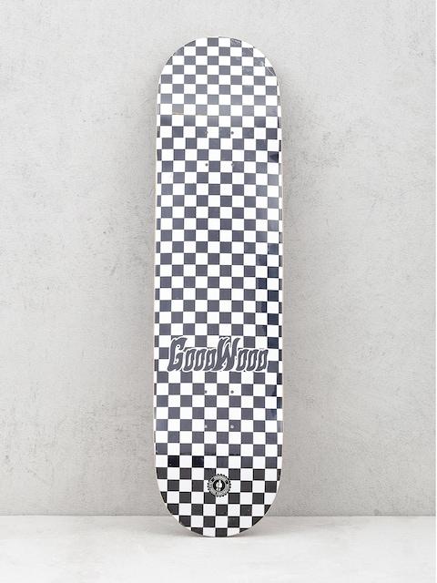 Doska Goodwood Checker (black/white)