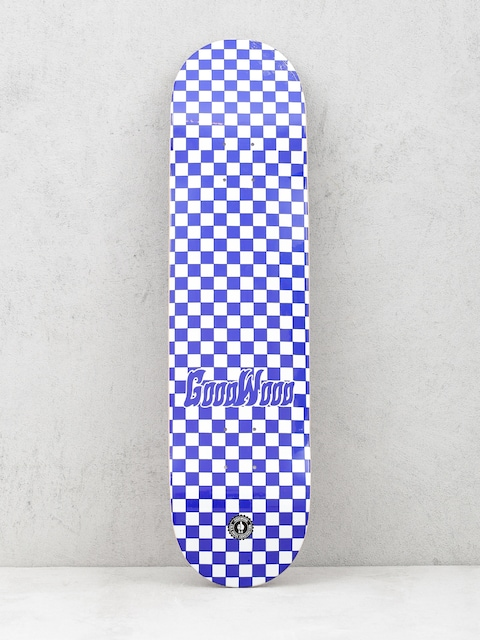 Doska Goodwood Checker (blue/white)