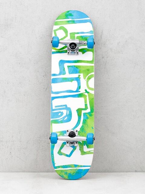 Skateboard Blind Water Color (green/blue)