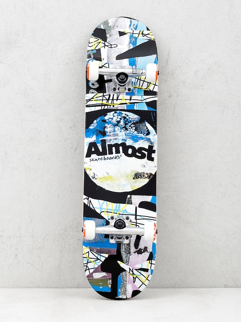 Skateboard Almost Distressed (black)