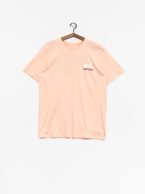 Tričko Quiksilver Good Badss (peach parfait)