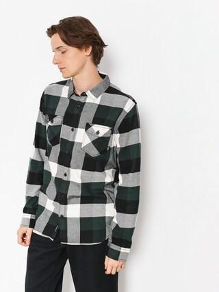 Košeľa Vans Box Flannel (darkest spruce/natural)