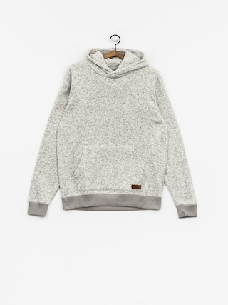 Mikina s kapucňou Quiksilver Keller HD (light grey heather)