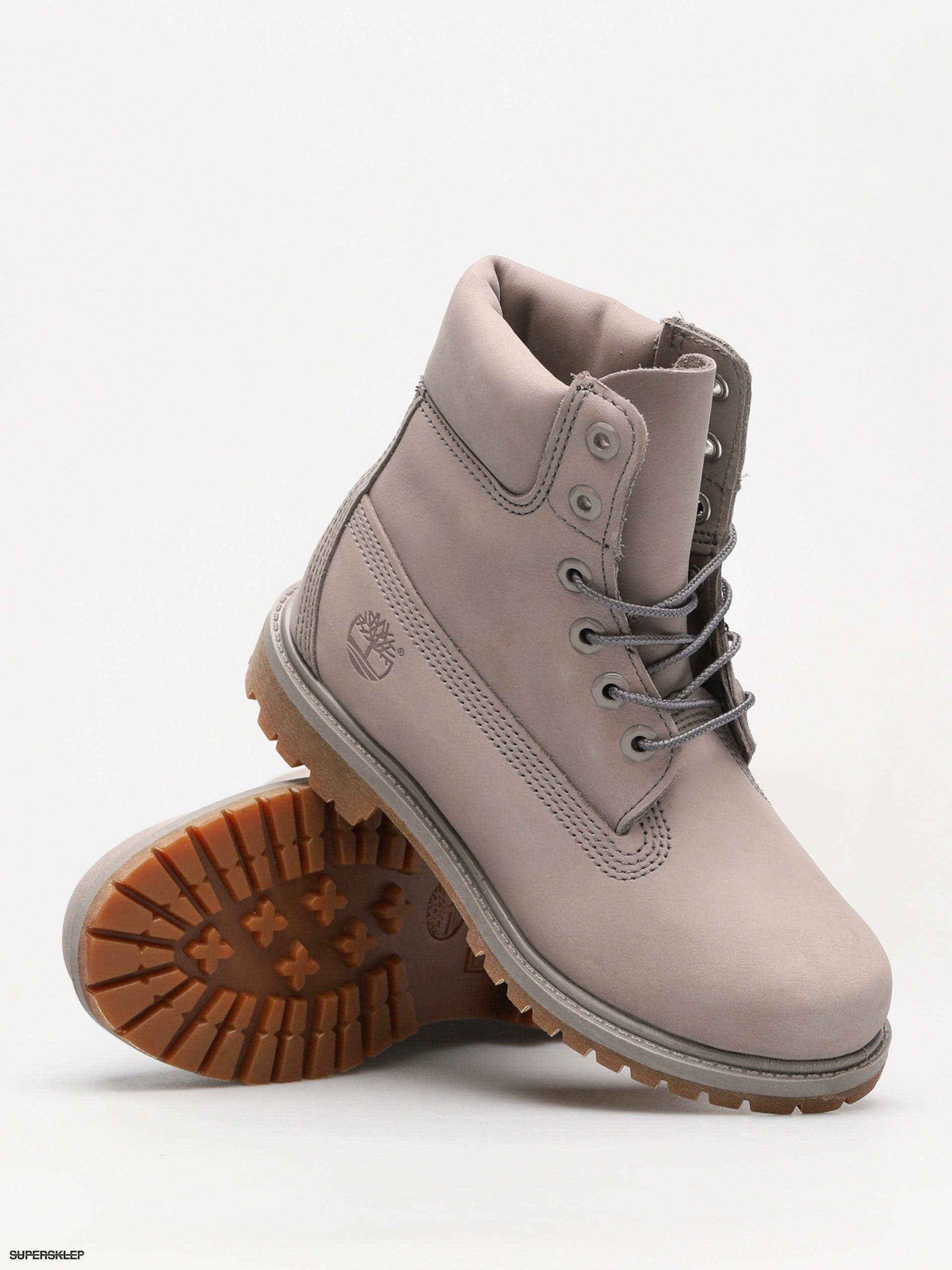 cb7ba818f Zimné topánky Timberland 6 In Premium Wmn (steeple grey)