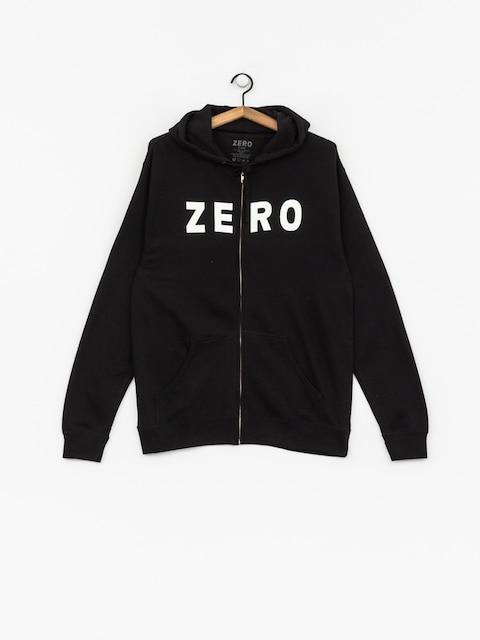 Mikina s kapucňou Zero Army ZHD (black)