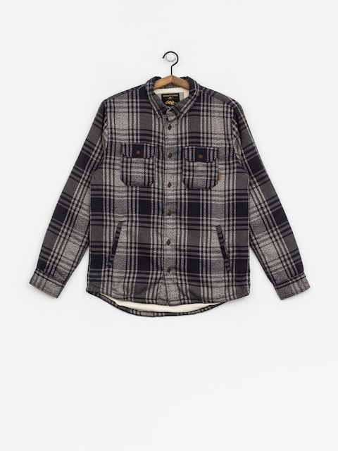 Košeľa Quiksilver The Waffle Shirt (medblu)