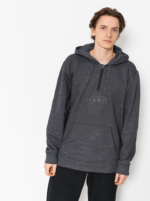 Mikina Vans Easy Box Qtr Zip (black heather)