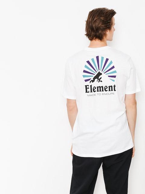 Tričko Element Rising (optic white)