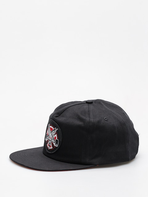 Šiltovka Independent x Thrasher Pentagram Cross Adj Snapback ZD (black)