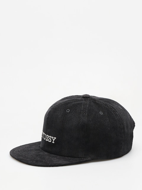 Šiltovka Stussy Washed Cord HD (black)