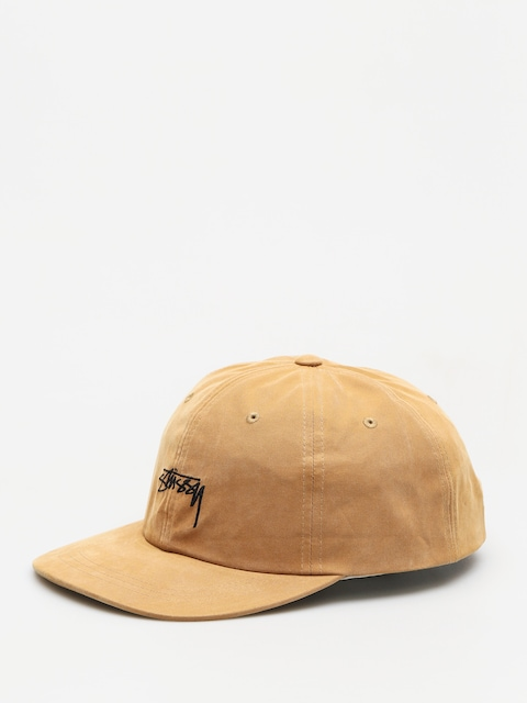 Šiltovka Stussy Peached Smooth Stock Low Pro (camel)
