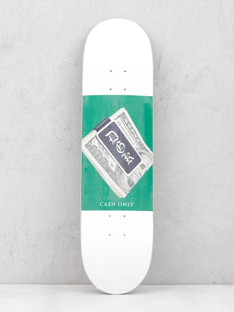 Doska DGK Cash Only (white/green)