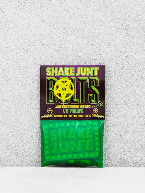 Skrutky Shake Junt L King Phillips (black/green)