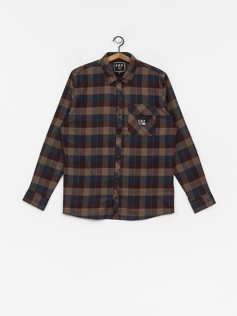 Košeľa Fox Rowan Stretch Flannel (nvy)