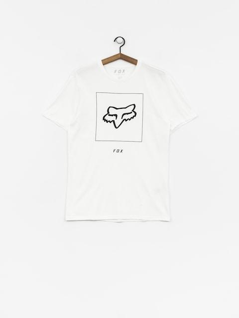 Tričko Fox Crass (opt wht)
