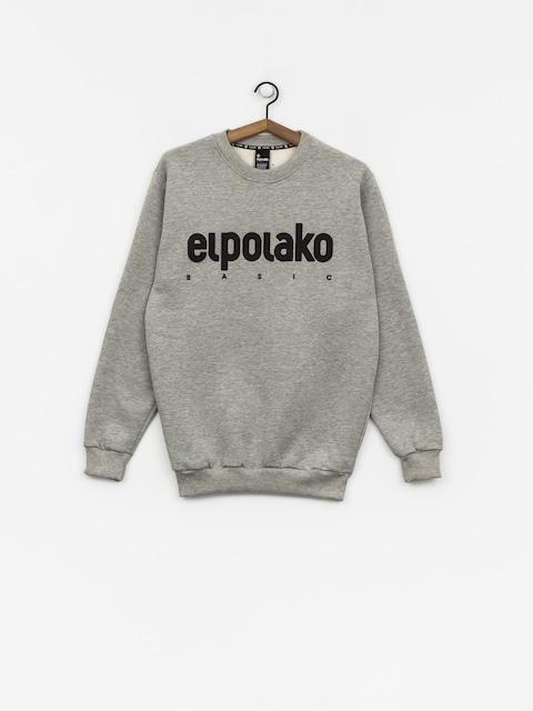 Mikina El Polako Classic (grey heather)