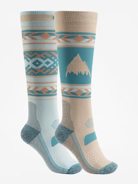 Ponožky Burton Performance Lightweight 2Pk Wmn (abyss)