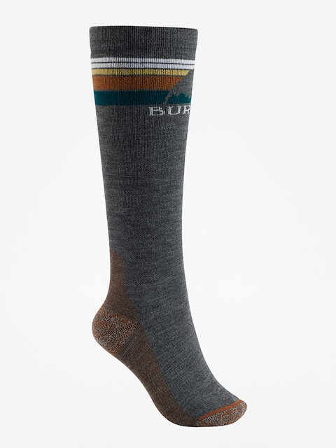 Ponožky Burton Emblem Midweight Wmn (true black)