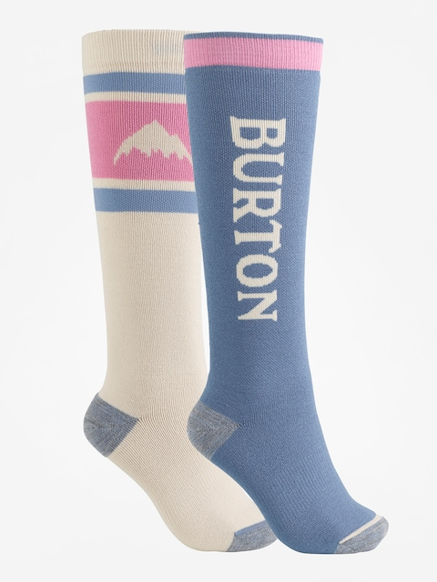 Ponožky Burton Weekend Midweight 2Pk Wmn (pelican)