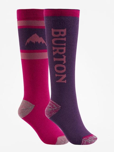 Ponožky Burton Weekend Midweight 2Pk Wmn (concord)