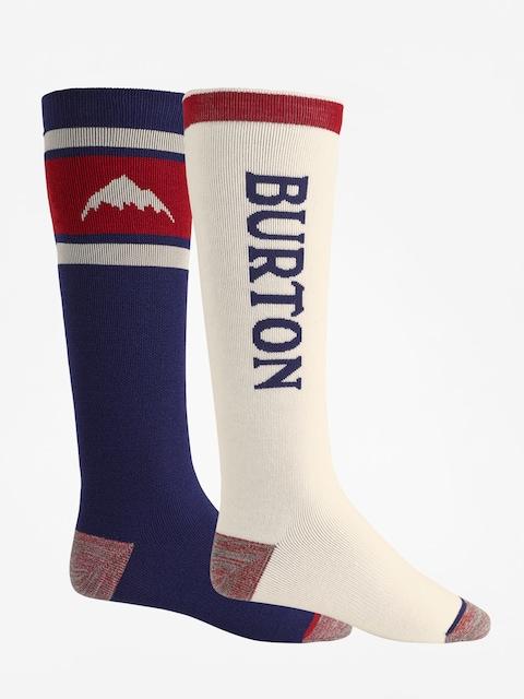 Ponožky Burton Weekend Midweight 2Pk (mood indigo)