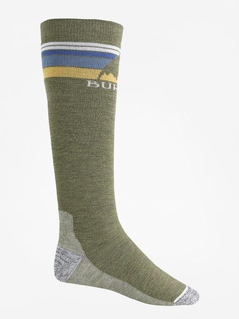 Ponožky Burton Emblem Midweight (olive heather)