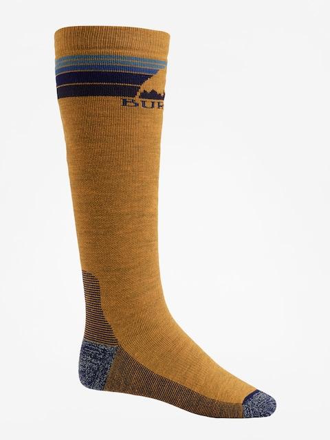 Ponožky Burton Emblem Midweight (golden oak)