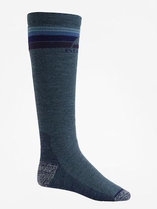 Ponožky Burton Emblem Midweight (indigo heather)
