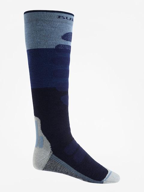 Ponožky Burton Performance + Midweight (mood indigo block)