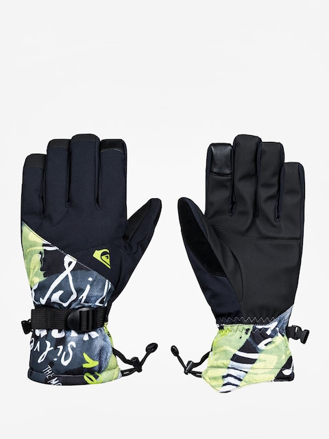 Rukavice Quiksilver Mission Glove (construct black)